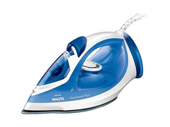 Ferro a Vapor Philips Walita Base EasySpeed Plus Branco e Azul 1400W
