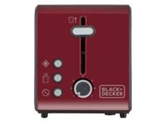 Torradeira Black & Decker 850W Vermelha 7 Níveis - 2