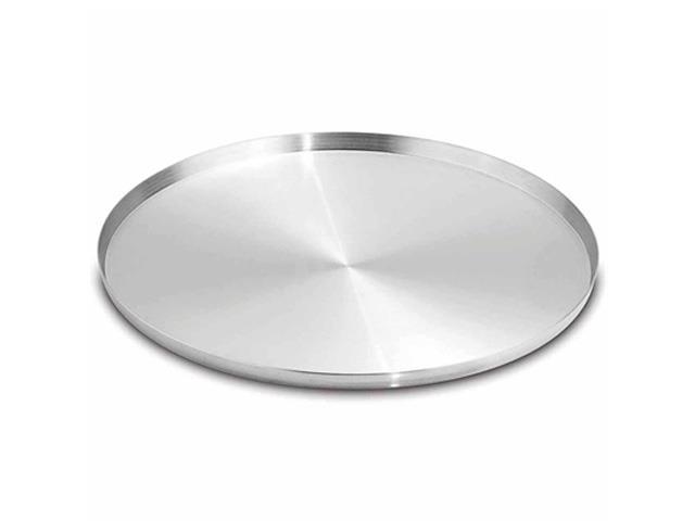 Assadeira/Forma para Pizza Fortaleza Aluminio Polido 25 cm