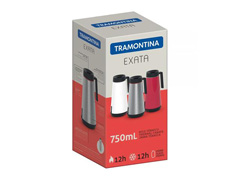 Bule Térmico Tramontina Exata Branco 750mL - 2