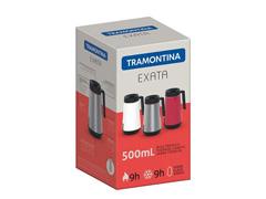 Bule Térmico Exata Tramontina com Infusor Vermelho 500mL - 2