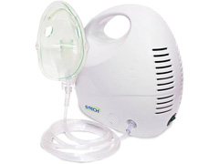 Inalador/Nebulizador de Ar Comprimido Adulto e Infantil Gtech Bivolt