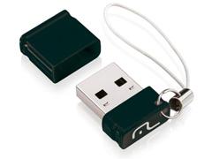 Nano Pendrive Multilaser Preto 32GB - 0