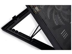 Cooler para Notebook Multilaser Warrior Power Gamer LED Verde AC267 - 3