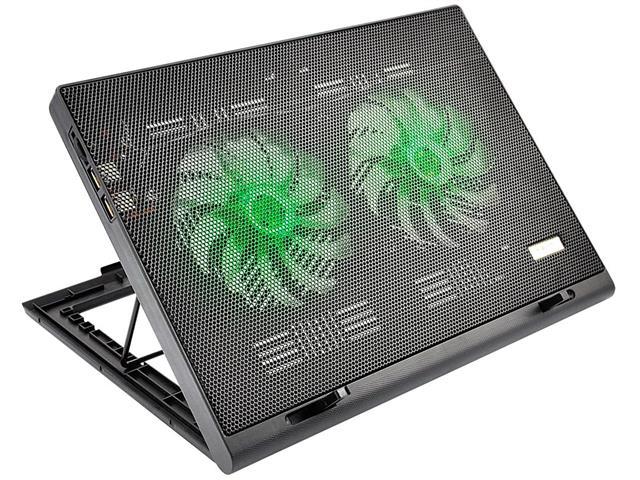 Cooler para Notebook Multilaser Warrior Power Gamer LED Verde AC267