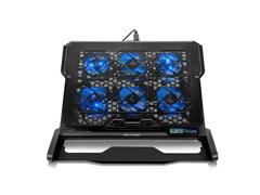 Cooler para Notebook Multilaser Com 6 Fans Led Azul Hexa Cooler