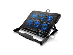 Cooler para Notebook Multilaser Com 6 Fans Led Azul Hexa Cooler - 3