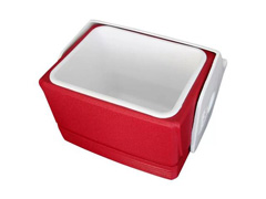 Kit Caixa Térmica Wheelie Cool 38QT Vermelho Com 3 Peças - 1