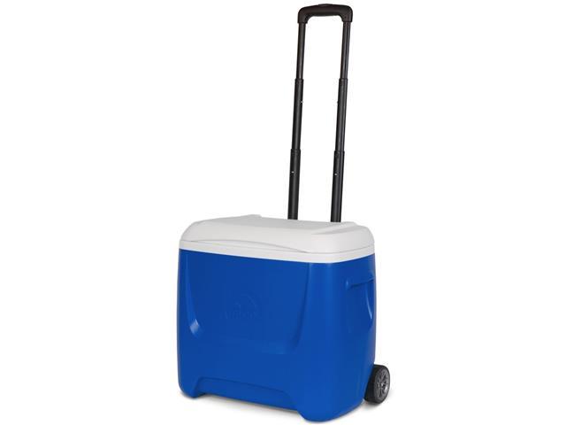 Caixa Térmica Igloo Island Breeze 28QT Roller Azul 26 Litros
