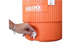 Cooler Térmico Igloo Gallon Seat Top com Torneira Laranja 18,9 Lts - 2