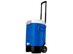 Cooler Térmica Igloo Sport 5 Gallon Roller com Torneira Azul 18,9 Lts
