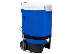 Cooler Térmica Igloo Sport 5 Gallon Roller com Torneira Azul 18,9 Lts - 2