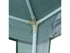 Tenda Gazebo Articulada Nautika 3X3 Metros Green - 2