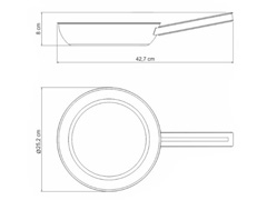 Frigideira em Aço Inox Tramontina Brava 20cm - 2