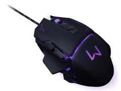 Mouse Gamer Multilaser USB 3200 DPI Warrior Preto - 5