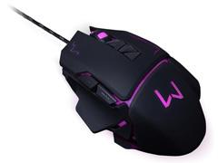 Mouse Gamer Multilaser USB 3200 DPI Warrior Preto - 6