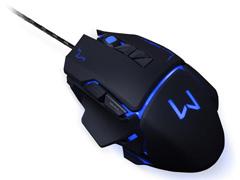 Mouse Gamer Multilaser USB 3200 DPI Warrior Preto - 4