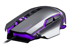 Mouse Gamer Multilaser USB 3200 DPI Warrior Grafite - 2