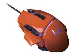 Mouse Gamer Multilaser USB 3200 DPI Warrior Laranja - 4