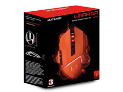 Mouse Gamer Multilaser USB 3200 DPI Warrior Laranja - 6