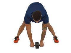 Roda de Exercícios Abdominais Polimet Ab Wheell - 4