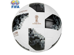 Bola Futebol Campo Adidas Telstar 18 Copa do Mundo TOP Replique FIFA