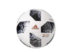 Bola Futebol Campo Adidas Telstar 18 Copa do Mundo TOP Replique FIFA   - 1