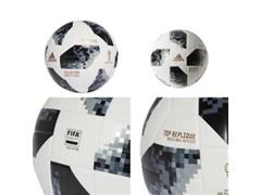 Bola Futebol Campo Adidas Telstar 18 Copa do Mundo TOP Replique FIFA   - 2