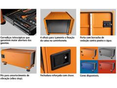 Caixa para Ferramentas Tramontina PRO Pickup Box 500x1000x500 mm Azul - 2