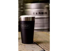Copo Térmico de Cerveja Stanley sem Tampa Preto 473mL - 2