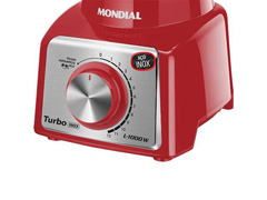 Liquidificador Mondial Turbo L-1000 RI 12 Vel. 1000W Vermelho - 2