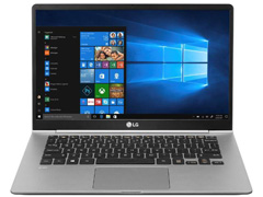 "Notebook LG Gram Intel®Core™i5 8ª geração 8GB SSD 256GB LED 14""Titânio - 1"