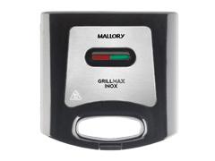Grill e Sanduicheira Mallory Max Preta e Inox 750W - 1