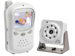 Babá Eletrônica Multikids com Tela Baby Talk