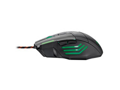 Mouse Gamer Multilaser Warrior 3200 DPI com 7 Botões Preto - 3
