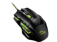 Mouse Gamer Multilaser Xgamer Fire Button 2400 DPI USB Verde