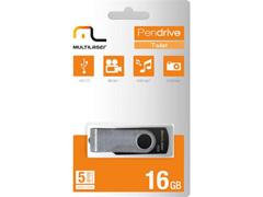 Pen Drive Multilaser Twist 16GB Preto - 1