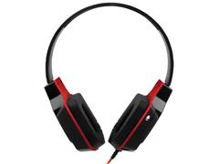 Headset Gamer Multilaser Earpad de Silicone P2 Preto e Vermelho - 2