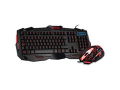 Kit Multimídia Multilaser Mouse e Teclado Gamer Lightning Azul - 1