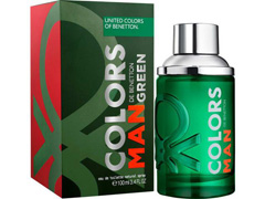 Perfume Colors Man Green Benetton Eau de Toilette Masculino 100ml - 1