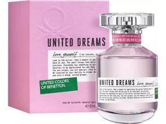 Perfume United Dreams Love Yourself Benetton Eau de Toilette 80ml - 1