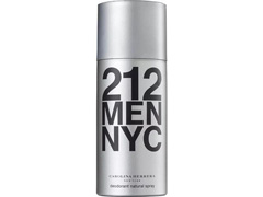 Desodorante Spray 212 Men Nyc Carolina Herrera Masculino 150ml