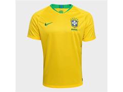 Camisa Seleção Brasil I 2018  Torcedor Nike Masculina