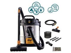 Aspirador de Pó e Água WAP GTW Inox 1400W 12 Litros  - 3