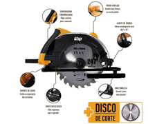 "Serra Circular WAP ESC1400 7 ¼"" 1400W - 4"