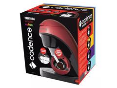 Cafeteira Single Cadence Colors Vermelha - 5