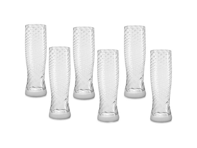 Kit Copos Oxford Cristal Twist Catarina 180 ml 6 unidades