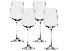 Conjunto Oxford Alumina Crystal 4 Taças De Cristal Chardonnay 450ml