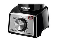 Liquidificador Turbo Black Inox 3L 1000W 12 Velocidades Mondial - 1