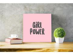 Quadro Decorativo Girl Power